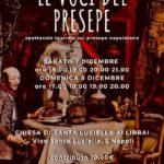 """Spettacolo teatrale a Santa Luciella """"Le voci del presepe"""" 7-8 dicembre 2019"""